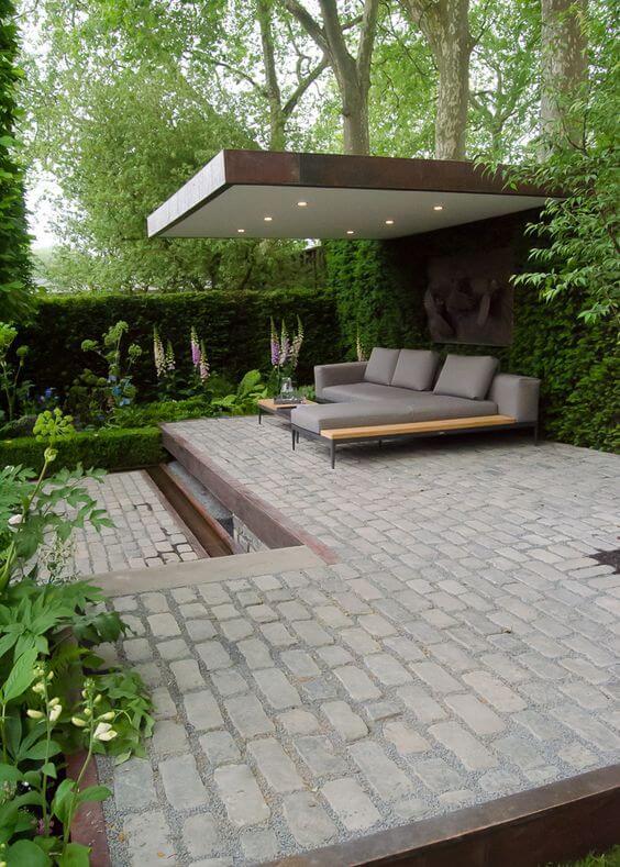 43 strakke tuin idee n ik woon fijn - Scheiding houten ...