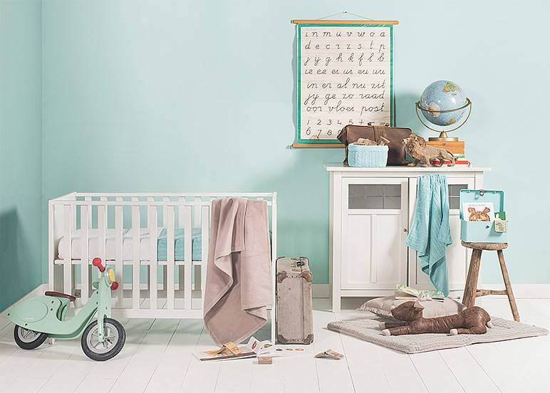 Babykamer mintgroen leuke accessoires ik woon fijn