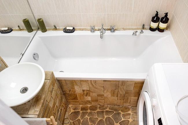 Prachtige kleine landelijke badkamer voorbeelden