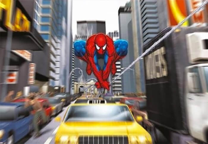 Stoere jongenskamer: fotobehang Spiderman