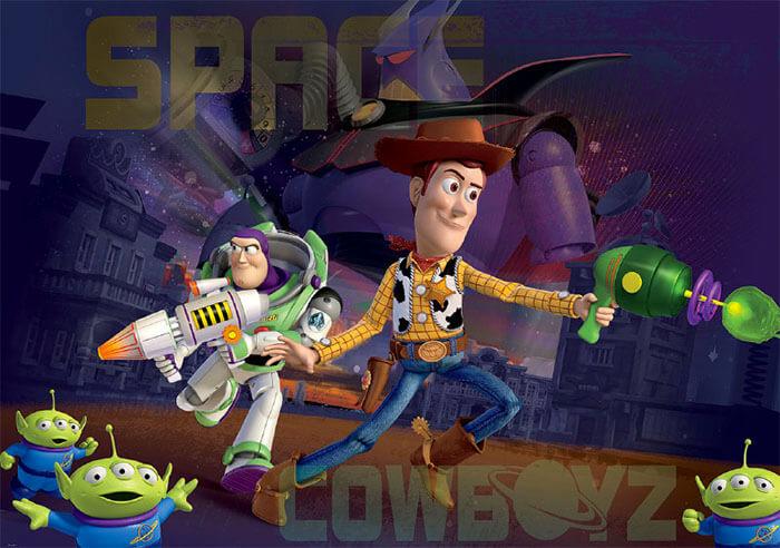 Stoere jongenskamer: fotobehang Toy Story