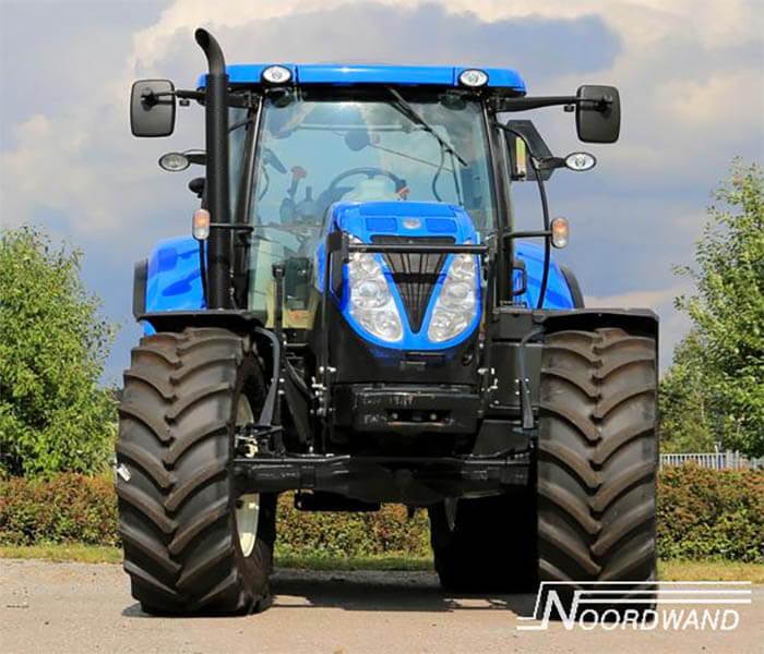 Stoere jongenskamer: fotobehang Tractor
