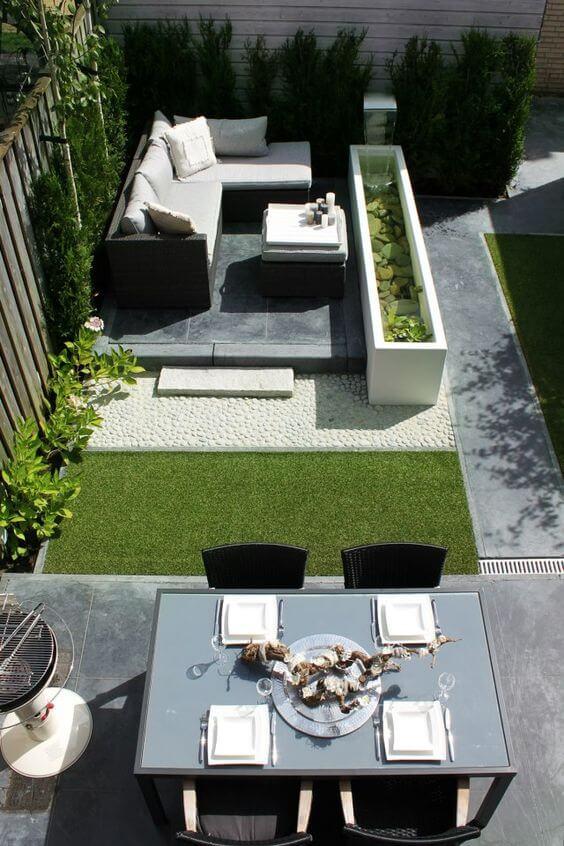 Terras en loungetuin