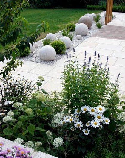 43 strakke tuin idee n ik woon fijn for Tuin inrichten planten