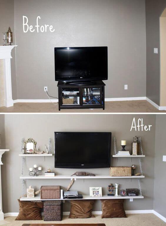 Tv kast vervangen