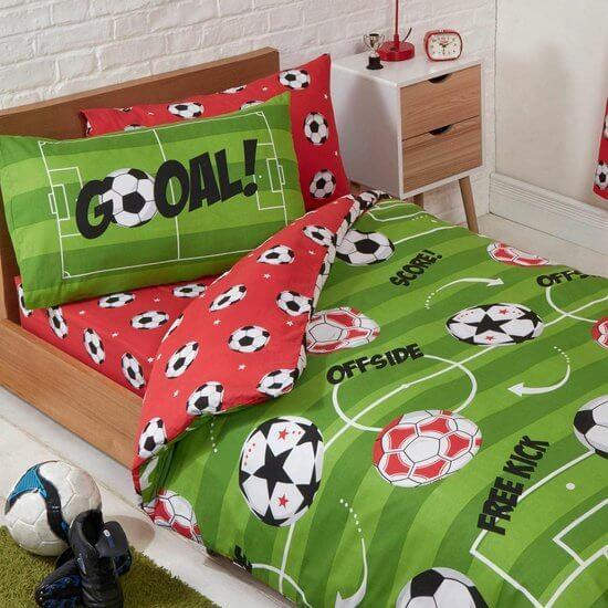 Voetbal dekbed
