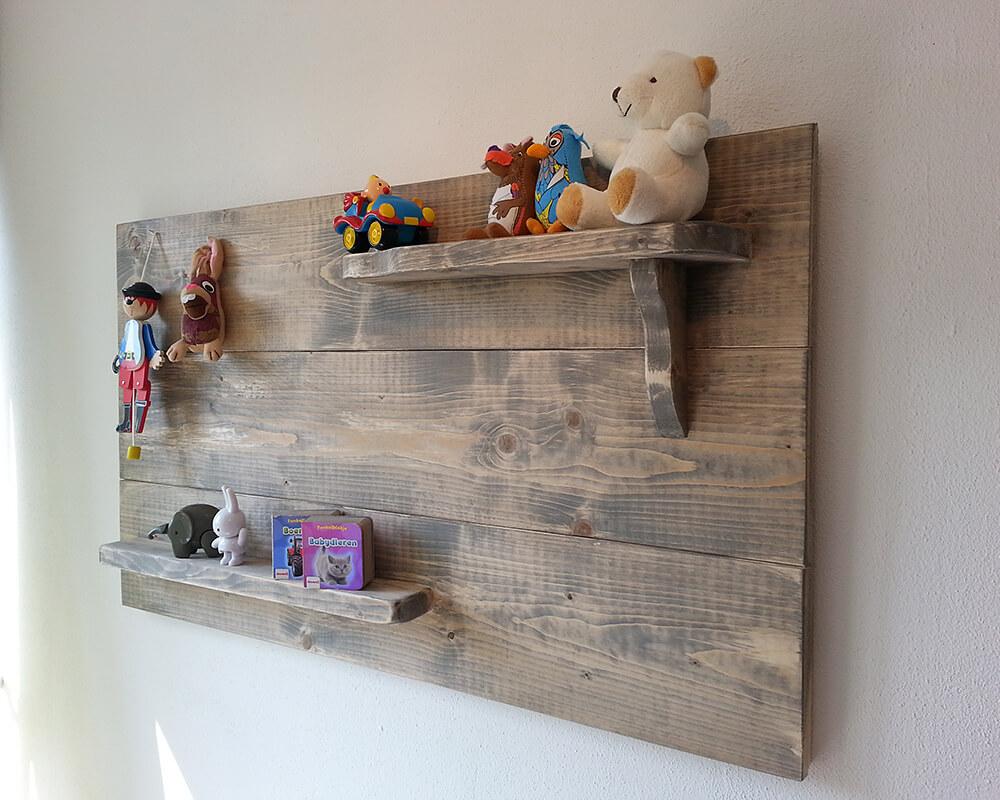 babykamer van steigerhout: 15 prachtige voorbeelden | ik woon fijn, Deco ideeën