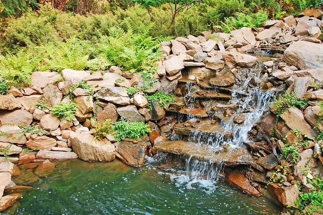 Waterval in je tuin 14