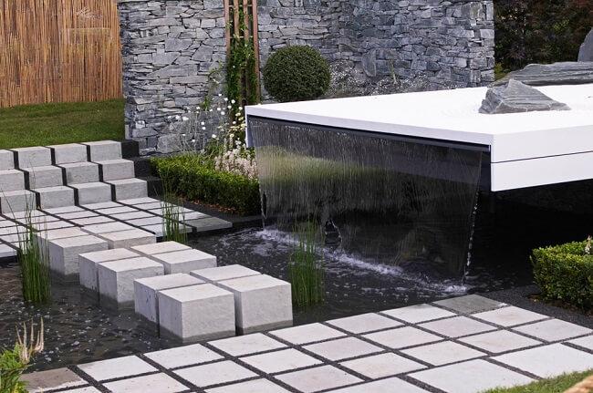 Waterval in je tuin 7
