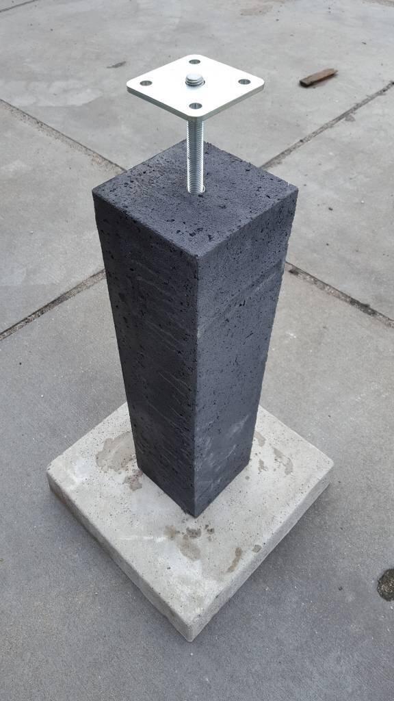 betonpoer overkapping