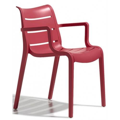 kunststof fauteuil voor buiten