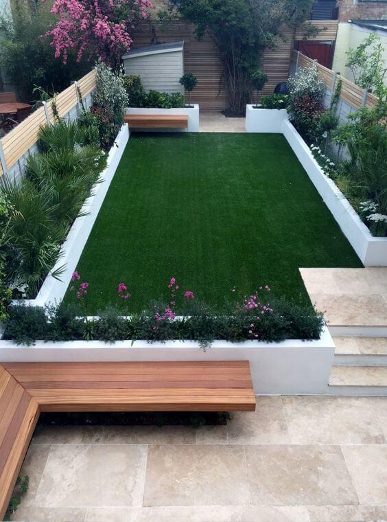Witte Tegels Tuin.43 Strakke Tuin Ideeen Ik Woon Fijn