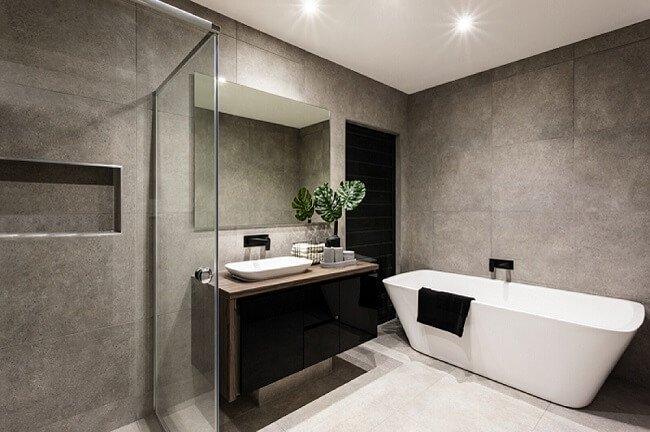 Grote industriële badkamers om van te dromen