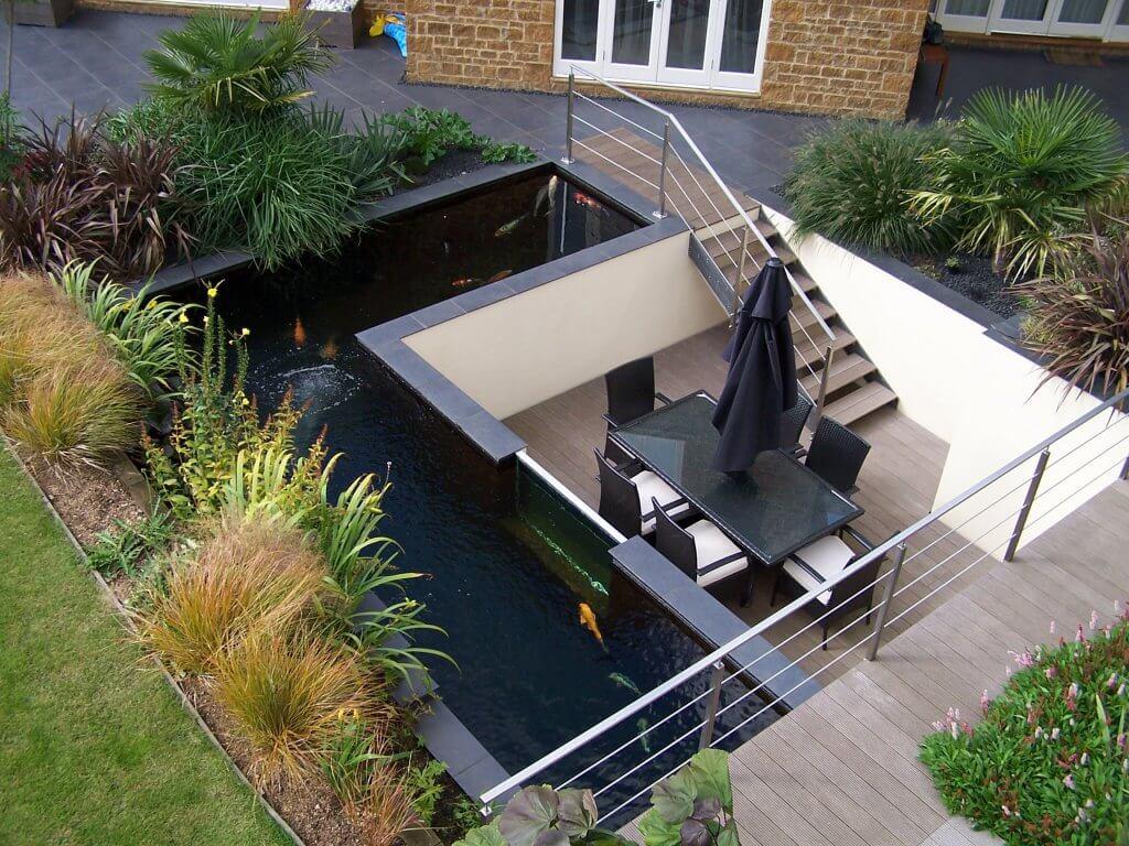 Voorbeeldtuinen Kleine Tuin : Strakke tuin ideeën ik woon fijn