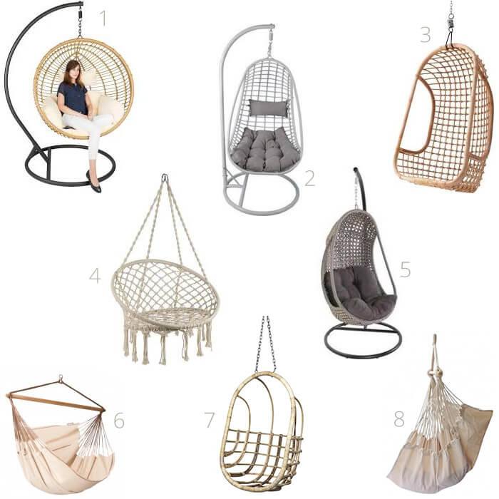 8 mooie en neutrale hangstoelen