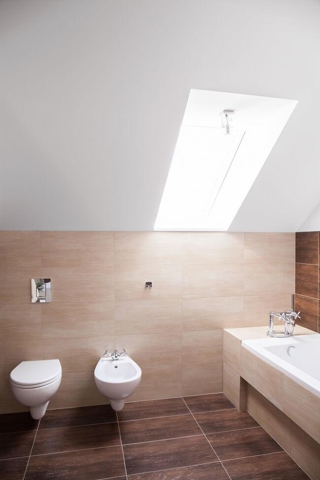 8. Schuine WC