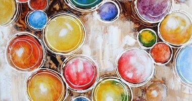 Schilderijen voor de kinderkamer: 7 voorbeelden