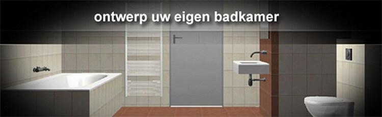 Badkamer in 3D ontwerpen