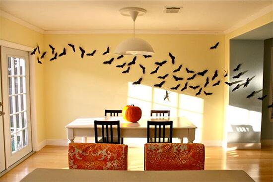 Halloween decoratie vleermuizen