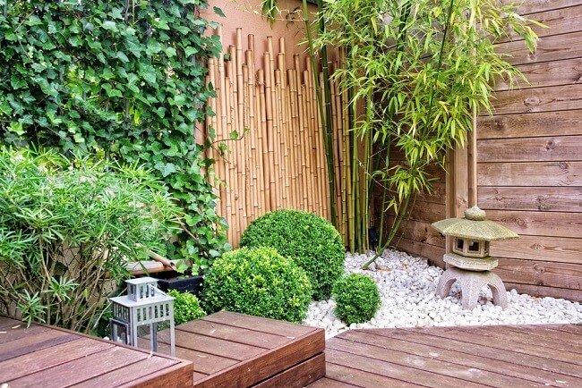 Kleine mediterrane tuin