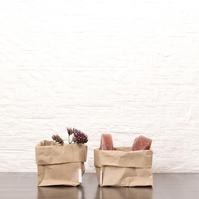 Kleine papieren zak