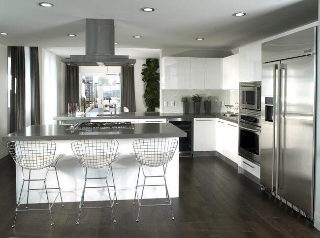 Moderne woonkeuken