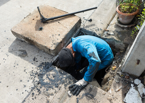 Riool schoonmaken door rioolspecialist