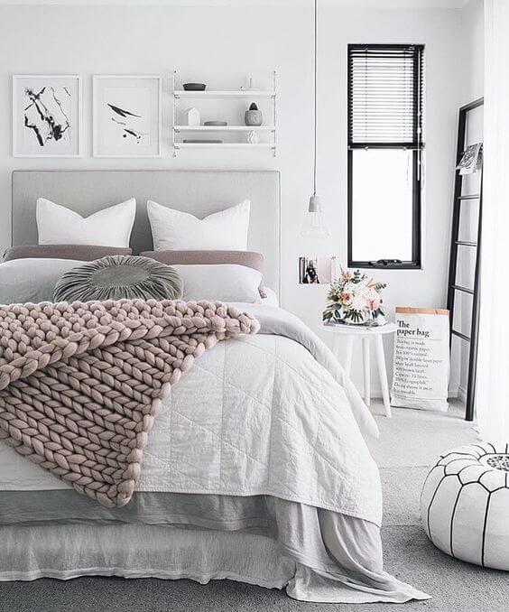witte slaapkamer - 16 prachtige voorbeelden | ik woon fijn, Deco ideeën