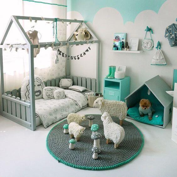 Babykamer Muur Ideeen.Kinderkamer Schilderen 20 Leuke Ideeen Ik Woon Fijn