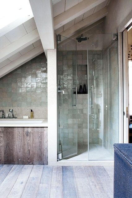 Fabulous Badkamer met schuin dak: 8 voorbeelden ter inspiratie | Ik woon fijn &YJ74