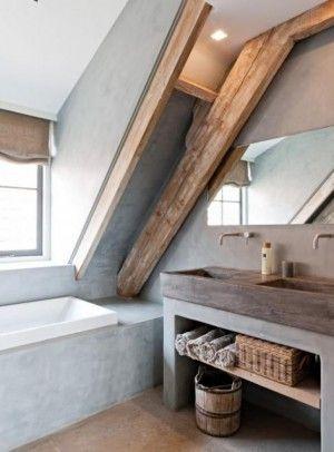 Badkamer met schuin dak: 8 voorbeelden ter inspiratie   Ik woon fijn