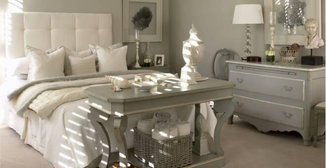 Inrichten Slaapkamer Voorbeelden : Brocante slaapkamer inrichten ik woon fijn