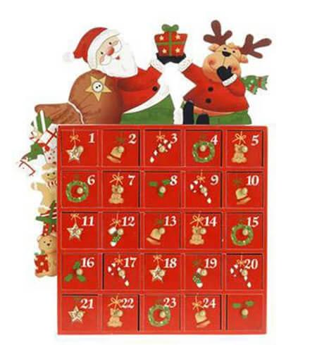 10 keer kerstdecoratie adventskalender