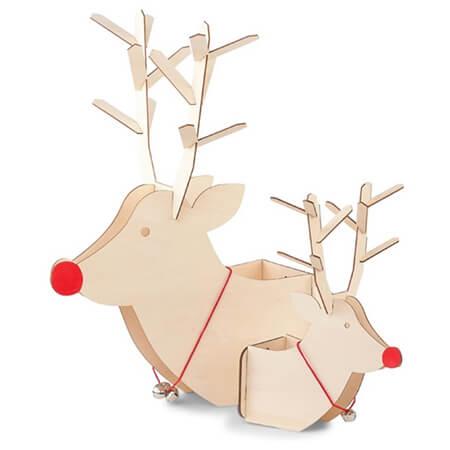10 keer kerstdecoratie hert