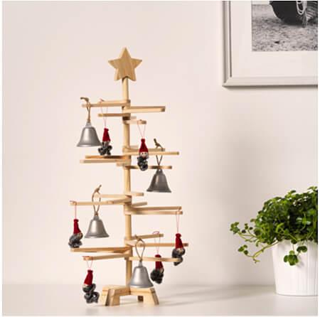 10 keer kerstdecoratie houten boom