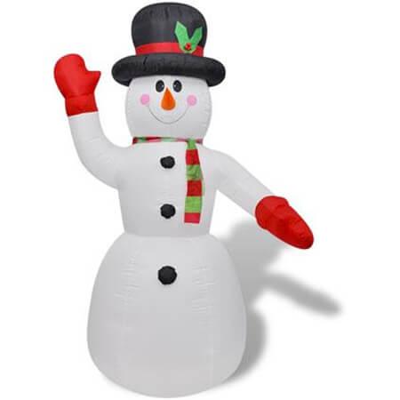10 keer kerstdecoratie sneeuwpop