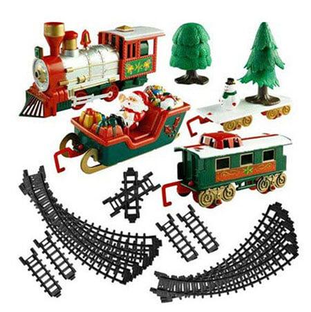 10 keer kerstdecoratie trein