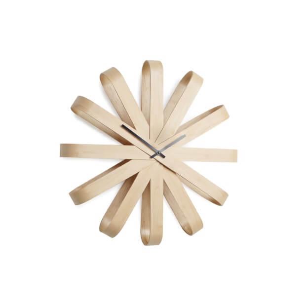 3d houten wandklok