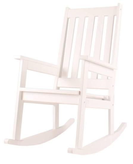 Eenvoudige, klassieke schommelstoel