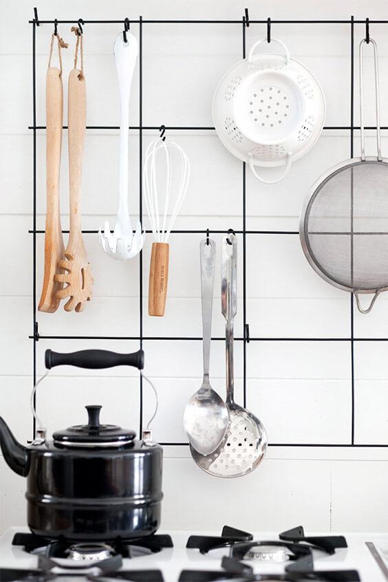 Gaaspaneel in de keuken
