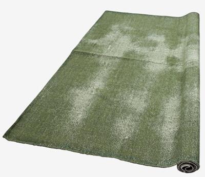 Groen in huis vloerkleed