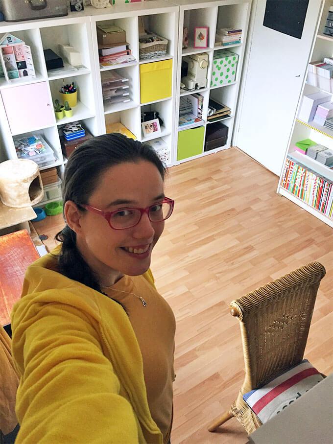 Interview Anouk werkkamer