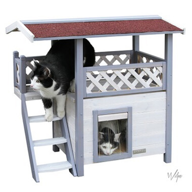 Kattenhuis met dakterras