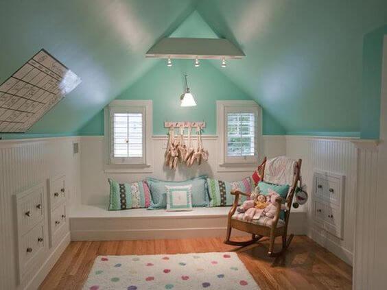 Kinderkamer als zolderkamer inrichten