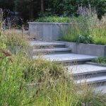 Tuin met hoogteverschil in Den Bosch