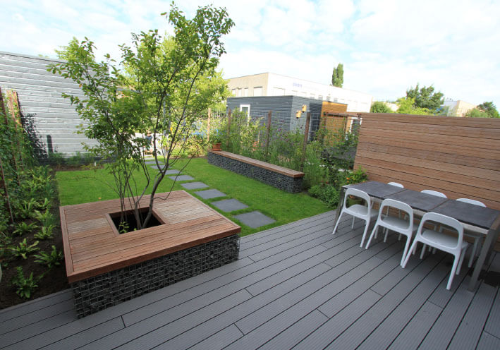 overzicht tuin
