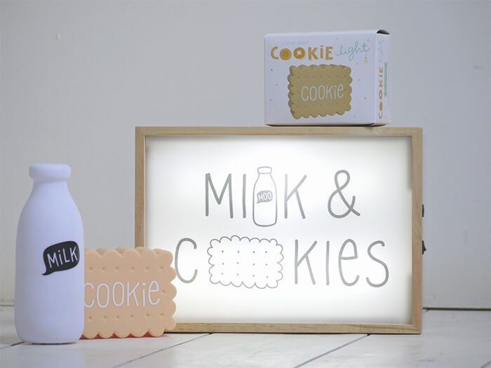 A Little Lovely Company milk & cookies licht