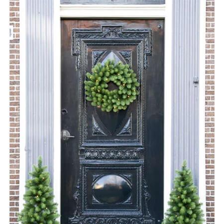 deurset-kerstkrans-en-kerstboompjes