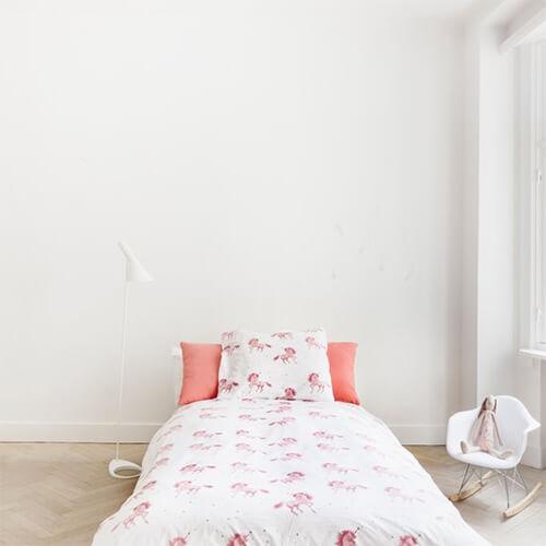 Eenhoorns in de meisjeskamer 7 voorbeelden ik woon fijn - Roze meid slaapkamer ...