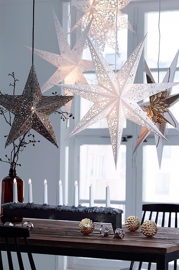 kerstdecoratie idee licht